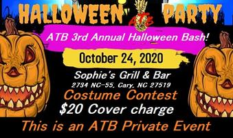 Halloween 2020 Cary Nc ATB's 3rd Annual Halloween BASH!! Tickets, Sat, Oct 24, 2020 at 7