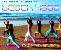 Yoga on the Coney Island Beach!