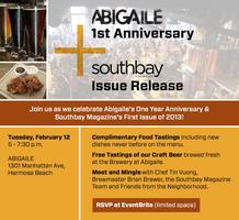 Abigaile 1st Anniversary + Southbay Magazine Issue...