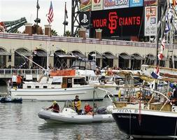 SF Giants Vs. Texas Rangers McCovey Cove Boat Party