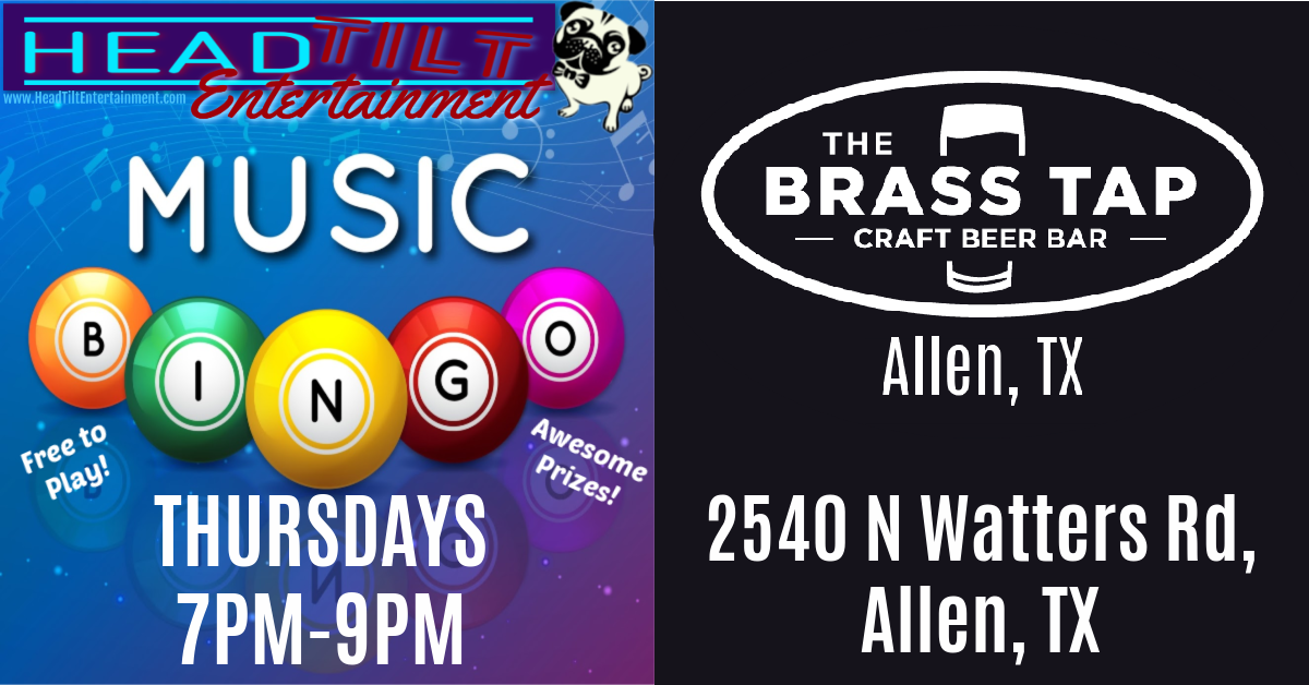 Music Bingo at The Brass Tap - Allen, TX