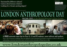 London Anthropology Day 2012
