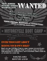 Harley-Davidson Motorcycle Boot Camp
