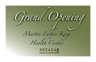 Martin Luther King Health Center Grand Opening Ceremony