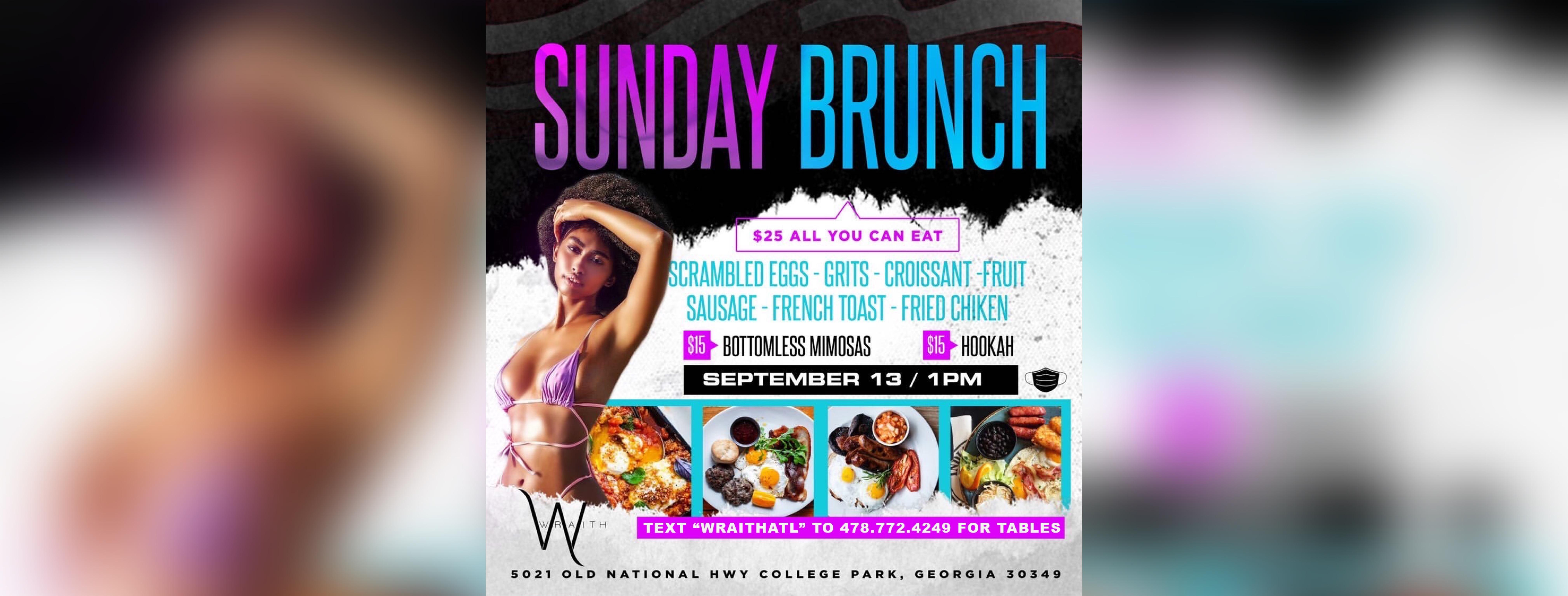 @WraithAtl Sunday Brunch
