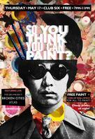 """So You think You can Paint?"" The T-Shirt Art Show Edition..."