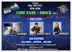 """CODE NAME: SHOCK...""""THE SECRET'S OUT!"""""""