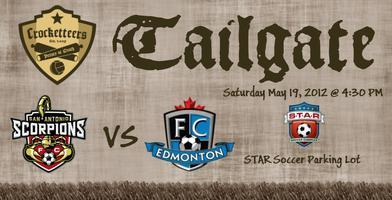 Tailgate Party & Scorpions vs FC Edmonton