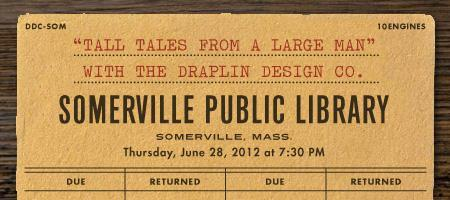Hear Aaron Draplin at the Somerville Public Library