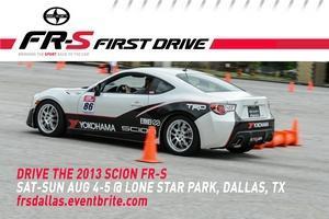 Scion FR-S FIRST DRIVE - Dallas (Grand Prairie, TX)