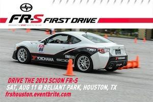 Scion FR-S FIRST DRIVE - Houston, TX
