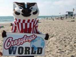 LA Badgers - CRAZYLEGS WEST 2013 - Hermosa Beach - TO PIER...