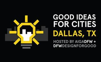 GOOD IDEAS FOR CITIES : PRESENTATIONS