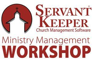 Boston, MA - Ministry Management Workshop