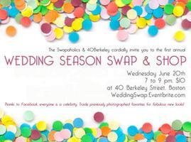 Be Our Guest: Wedding Season Swap & Shop