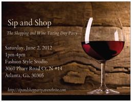 Sip and Shop: The Shopping and Wine Tasting Day Party