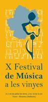 X Festival de Música a les Vinyes