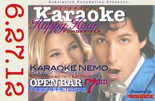 Scholarich Foundation Karaoke Happy Hour Fundraiser