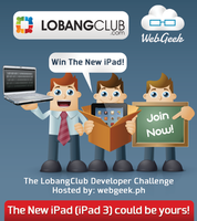 Dev Meetup: The LobangClub Developer Challenge...