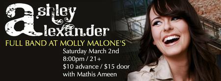 Ashley Alexander at Molly Malone's