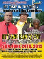 Jamaica's #1 Duo Comedians  Ity and Fancy Cat