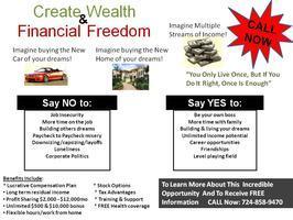 CREATE WEALTH & FINANCIAL FREEDOM