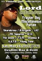 Lord Infamous @ Grafitti Bar & Grill