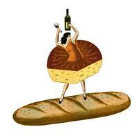 Wine Cheese & Bread Faire