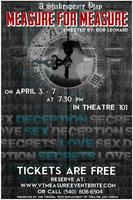 """""""MEASURE FOR MEASURE"""" Apr. 3-8 (FREE event)"""