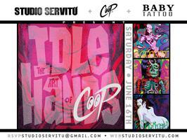 "Studio Servitu Presents : Coop's Book Release ""Idle..."