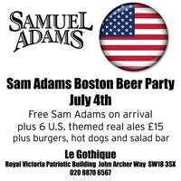 Sam Adams Boston Beer Party July 4th - @WandsworthBeer