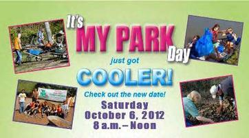 NEW DATE! It's My Park Day Fall 2012