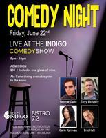 Comedy at The Indigo Hotel