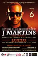 J Martins Live in Houston