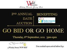 Go Bid or Go Home! WGIRLS London's 2nd Annual Date...