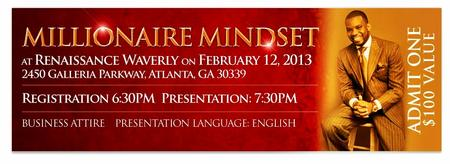 Millionaire Mindset in Atlanta On TOUR Event
