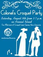 Colonel's Croquet Party on Arsenal Island