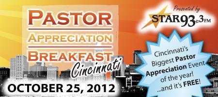 2012 Pastor Appreciation Breakfast - Cincinnati