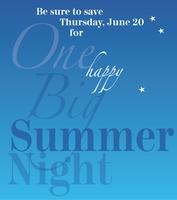 2013 One Big Summer Night
