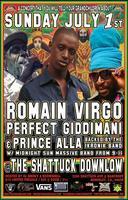 Romain Virgo, Perfect Giddimani, Prince Alla & More!