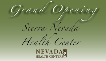 Sierra Nevada Health Center Grand Opening Ceremony