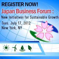 Japan Business Forum: New Initiatives for Sustainable...