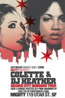 TIX AVAILABLE AT THE DOOR @ 10PM FOR COLETTE & DJ...