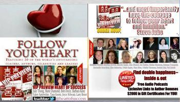 FOLLOW YOUR HEART ebook preview of HEART OF SUCCESS...