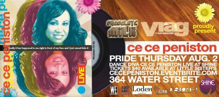 Chocolate Milk & V-Rag present CE CE PENISTON Live!