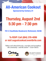 All-American Cookout (Networking Mixer) Sponsored by...