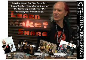 Electronics Workshop hosted by Mitch Altman