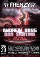 SP Presents: Frenzy Afterhours at Avalon w/Andrew Hong...