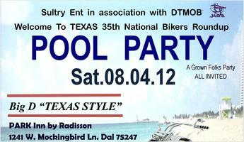 2012 National Bikers Roundup Pool Party @ Park Inn by...