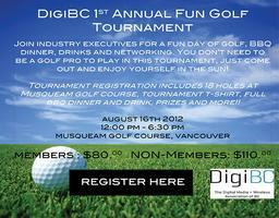 DigiBC 1st Annual Golf Tournament